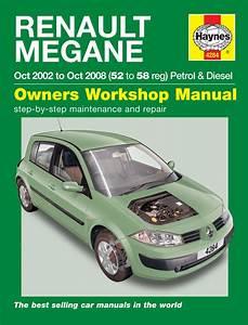 Haynes Manual 4284 Renault M Gane Petrol  U0026 Diesel 02 To 08