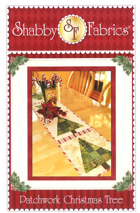 Patchwork Christmas Tree Table Runner 721762486351
