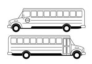 School Bus Clip Art Black and White