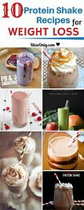 10 Protein Shake Recipes For Weight Loss