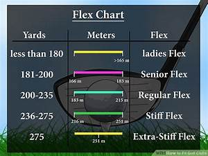 6 Iron Swing Speed Shaft Flex Chart How To Fit Golf Clubs 13 Steps With Pictures Wikihow
