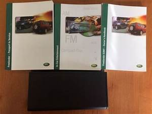 2003 Land Rover Freelander 03my Owners Manual Guide Book
