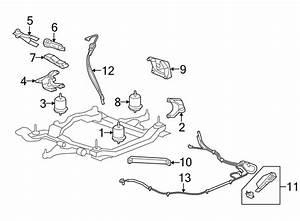 Buick Enclave Engine Mount Bracket  Front