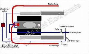 I Need A Diagram To Correctly Plumb Water Hoses To Engine