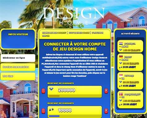 design home triche astuce diamants  argent