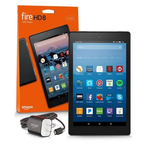 Amazon Kindle Fire HD 8 Tablet 16 GB 7th Generation 2017