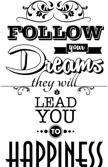 Sticker follow your dreams - TenStickers