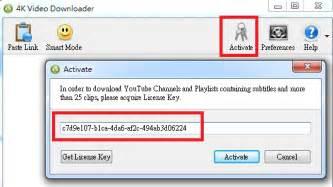 4k video downloader 3.2 ключ