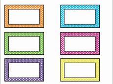 Free Name Tag Templates For Kids Bigstackstudioscom