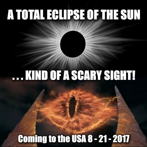 Eclipse Memes - total solar eclipse a scary sight american eclipse usa