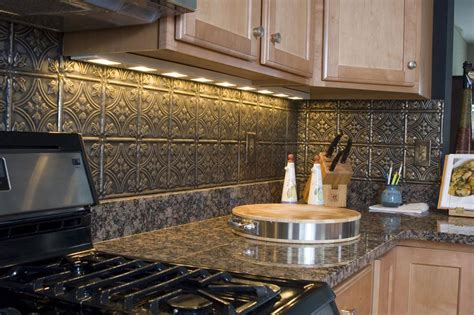 tin tiles for kitchen backsplash tin ceiling tiles backsplash ideas taraba home review 8529