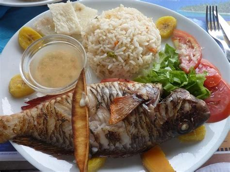 cuisine de poisson poisson grille cuisine creole guadeloupe delicious grilled fish and