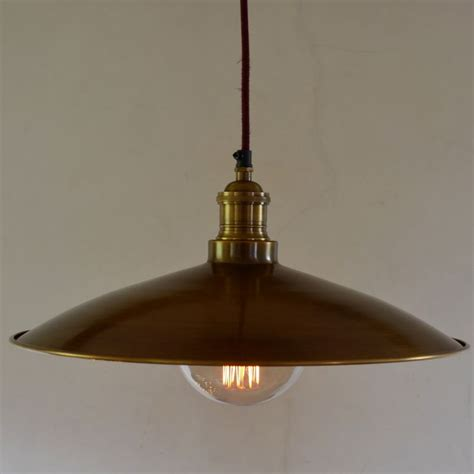 large santiago pendant in antique brass