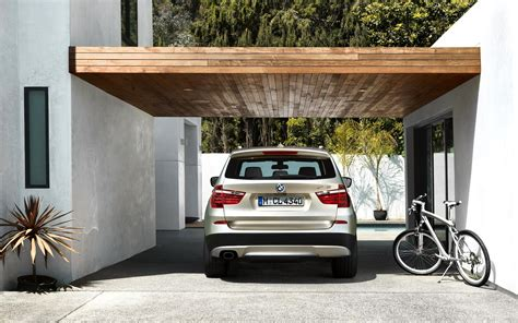 Bmw X3 In The Garage Hd Desktop Wallpaper Widescreen
