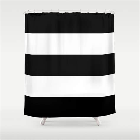Bold Shower Curtain by Bold Stripes Shower Curtain By Caitlinworkman Society6