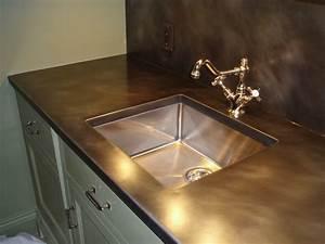 Bronze Counter Tops - Brooks Custom