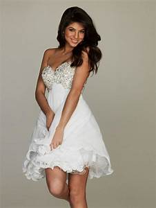 Short casual beach wedding dresses pictures ideas guide for Short white beach wedding dresses