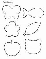 Shapes Coloring Printable Basic Worksheets Shape Parentune Preschoolers Whitesbelfast sketch template