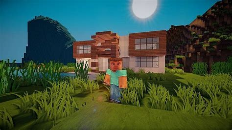 Minecraft  Medium Modern House 20x20 Minecraft Project