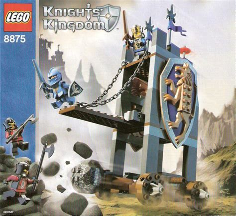 siege lego lego siege tower 8875 knights kingdom