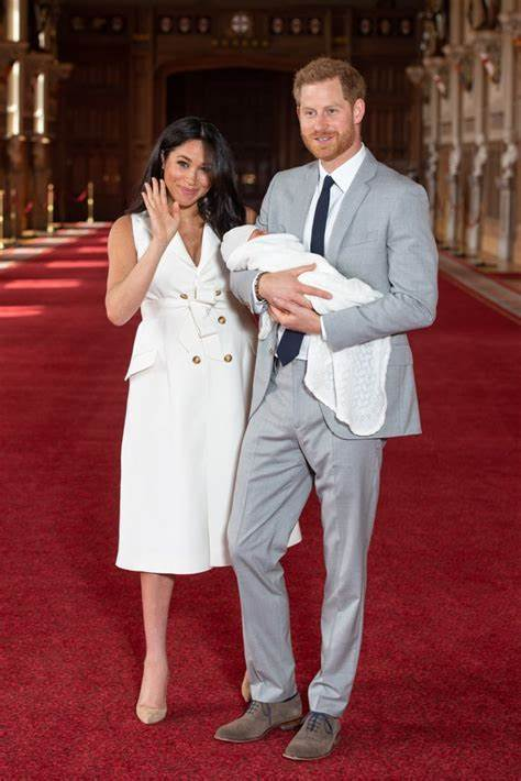 In this image released on may 2, prince harry, duke of sussex, speaks onstage during global citizen vax live: Prince Harry and Son Archie's Royal Debuts Pictures ...