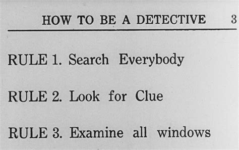 Sherlock Jr How To Be A Detective Gif By Maudit Find