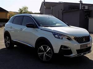 Caractéristiques Peugeot 3008 : peugeot 3008 1 6 bluehdi 120 gt line options occasion montbeliard pas cher voiture occasion ~ Maxctalentgroup.com Avis de Voitures