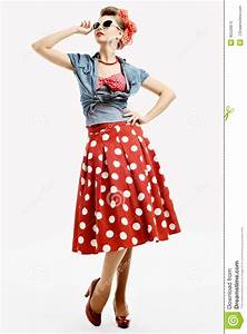 Was Ist Retro Style : pin up young woman in vintage american style stock photo image 45520870 ~ Markanthonyermac.com Haus und Dekorationen