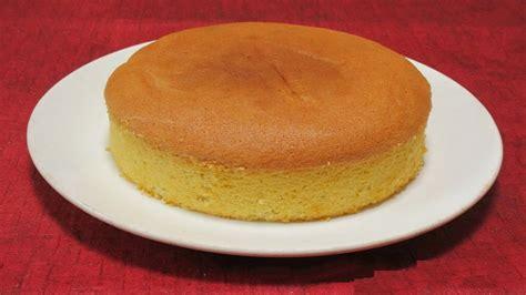 how to make sponge cake plain sponge cake recipe how to make plain sponge cake youtube