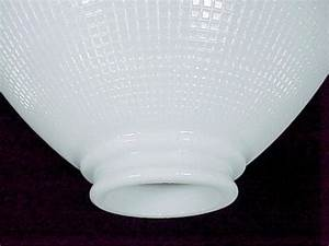 Ies reflector 3 x 10 table floor lamp shade white glass for Floor lamp reflector shade glass