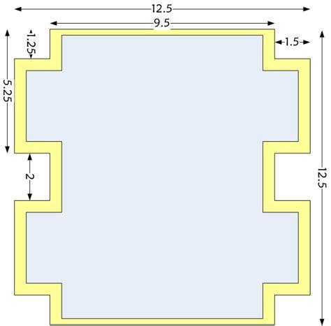 pencil template spacefem box shaped zipper pencil tutorial