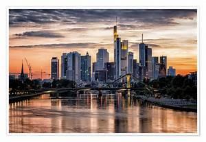 Skyline Frankfurt Bild : frankfurt am main sunset skyline skyscraper poster poster online bestellen ~ Eleganceandgraceweddings.com Haus und Dekorationen