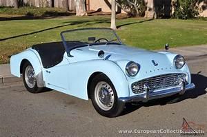 1962 Triumph TR3 A Roadster
