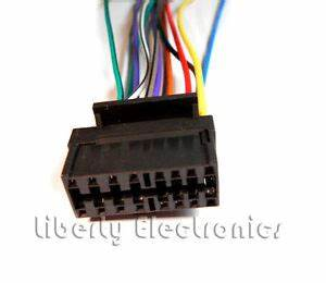 New Wire Harness For Sony Cdx  Cdx  Cdx