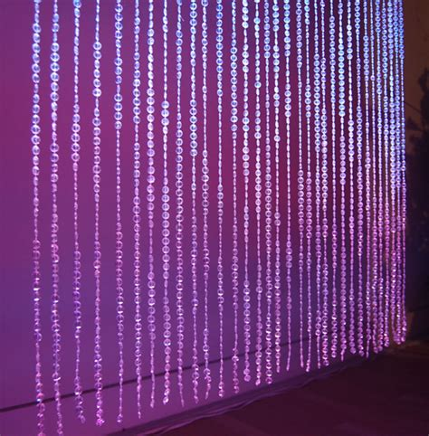 decorative beaded curtains event decor direct