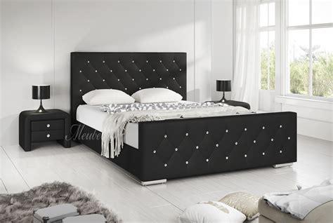 twee persoons bed tweepersoonsbed aventura zwart 180x200 cm
