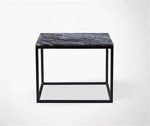 Table Basse Marbre But : table basse design en marbre gris house doctor ~ Teatrodelosmanantiales.com Idées de Décoration