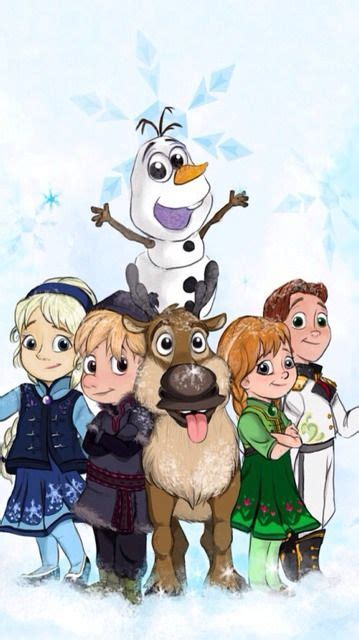 baby frozen characters     pinning baby