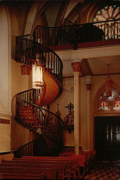 lady  light chapel staircase santa fe nm
