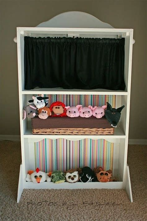 puppet theater    hubby   making