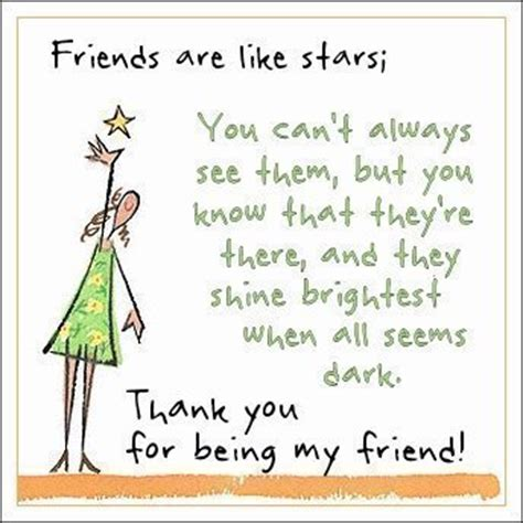 thank you quotes for friends quotesgram