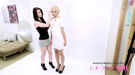 Teen Girl Tricked Into Lesbian Photo Shoot Casting Eporner