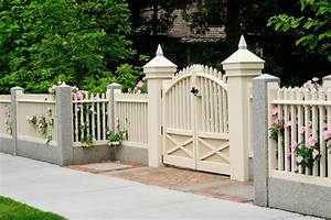 Barriere Pour Jardin : barri re de jardin 4 types populaires de barri res de jardin ~ Preciouscoupons.com Idées de Décoration
