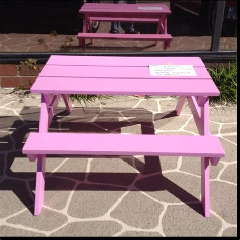 i made this kid s picnic table plans courtesy of
