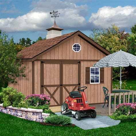 Barn Kits by Best Barns Brandon 12x16 Shed Kit Ebay