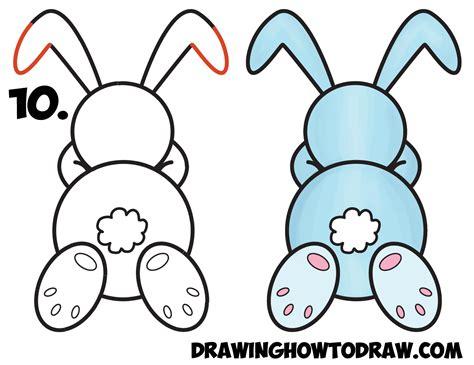 Easy To Draw Cartoon Bunny Cartoonankaperlacom