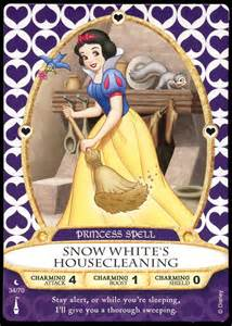 filmic light snow white archive 2012 quot sorcerers of the magic kingdom quot snow white cards
