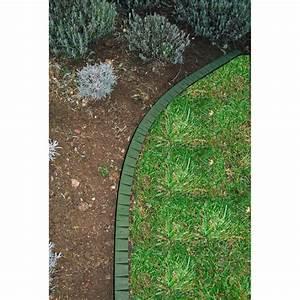 Bordure De Gazon : bordure de gazon rebord plat en plastique jardin et ~ Premium-room.com Idées de Décoration
