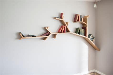 Buy Tree Branch Bookshelf by Oak Tree Branch Shelf 2 4m Wide By 1 2m High By