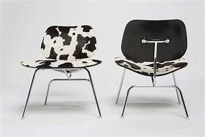 Charles and Ray Eames For Herman Miller LCM Cowhide Chairs